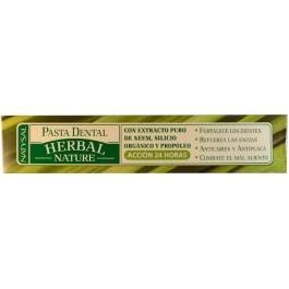 Pasta dental herbal nature