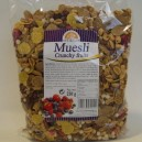 Muesli crunchy fruits